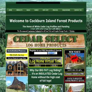 Log Cabin Siding - CI Forest Products