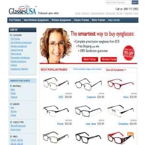 Eyeglasses Online - GlassesUSA