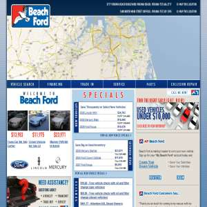 Beach Ford - Virginia used cars