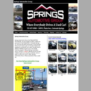 Used cars in Colorado Springs