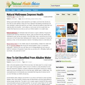 Natural Health Advice