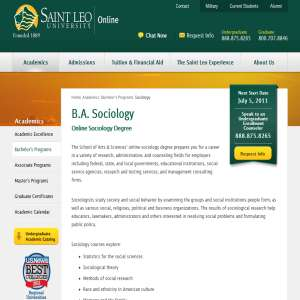 Online Sociology Degree