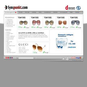 Solbriller, Kontaktlinser & Briller | Synspunkt.com