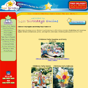 Bestbirthdays offer Party Supplies for Childrens Parties UK
