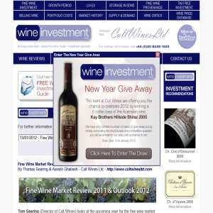 Wine Investment Site