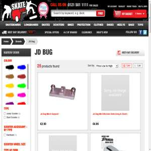 JD bug scooters