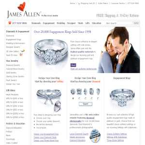 Engagement rings - James Allen