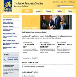 Graduate Programs in California