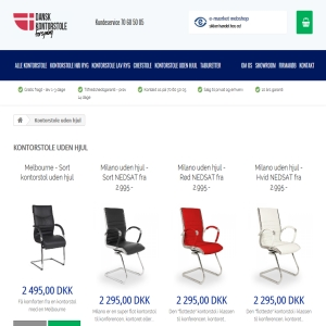 Kontorstolen fra Dankontorstole.dk