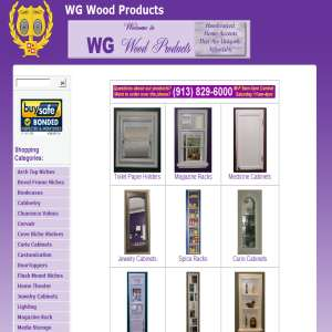 Bathroom Accessories - WG Wood Products